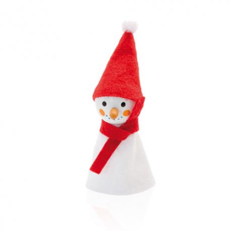 Pupazzini di Natale per dita Personalizzati