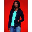 Felpa Ladies' Hooded Jacket Personalizzata