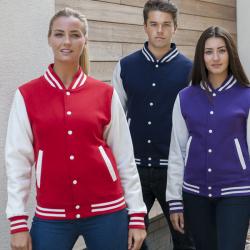 Felpa Varsity Jacket Personalizzata