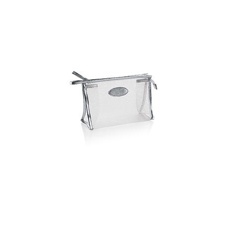Beauty case in mesh con rifiniture laminate X-ray 2 Personalizzato